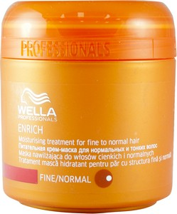 wella enrich mask how to use